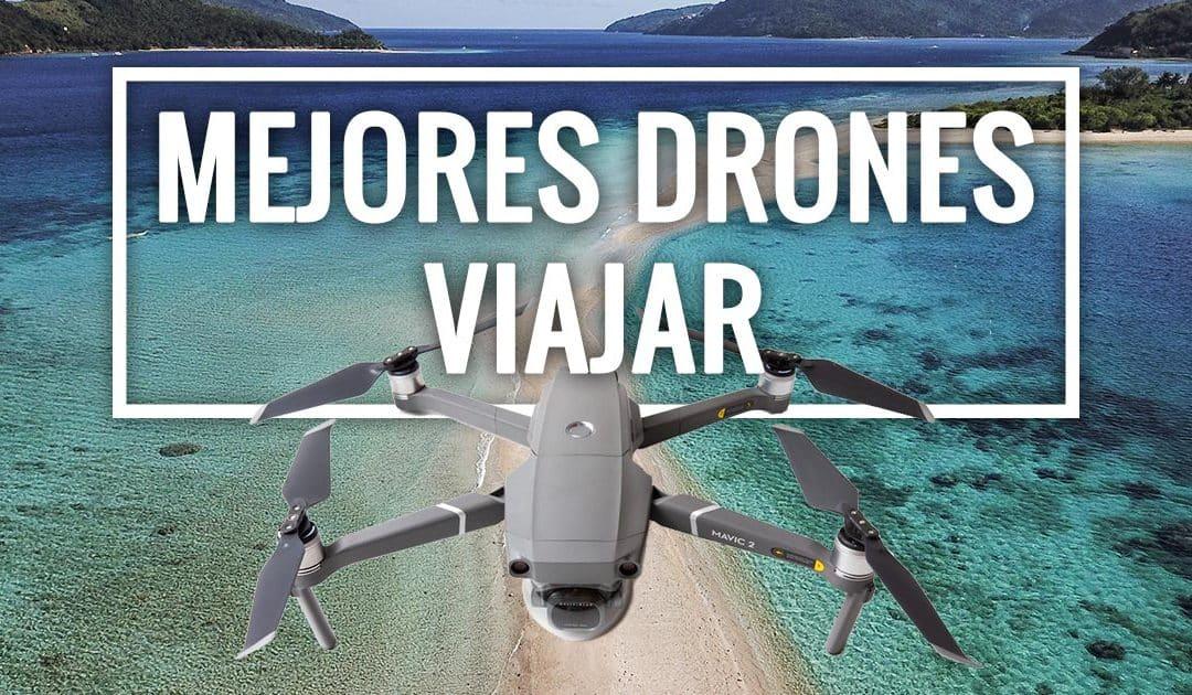mejores drones para viajar plegables calidad precio
