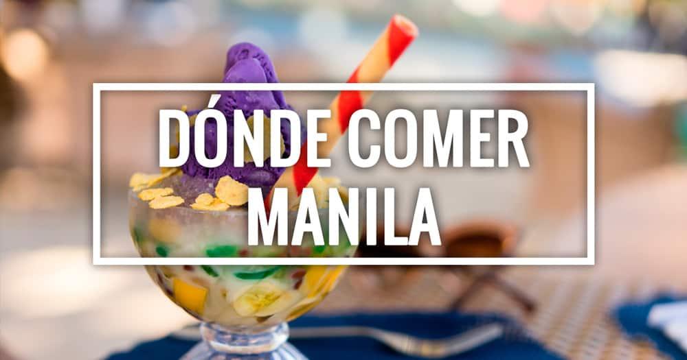 Dónde comer en Manila: nuestros restaurantes y cafeterías favoritos