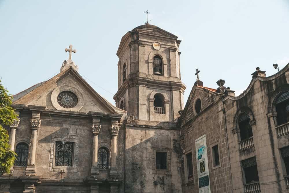 iglesia de San Agustín en Intramuros Manila