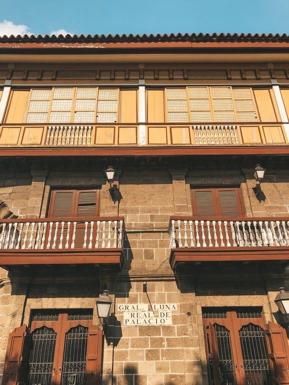 rincones que ver en Intramuros Manil