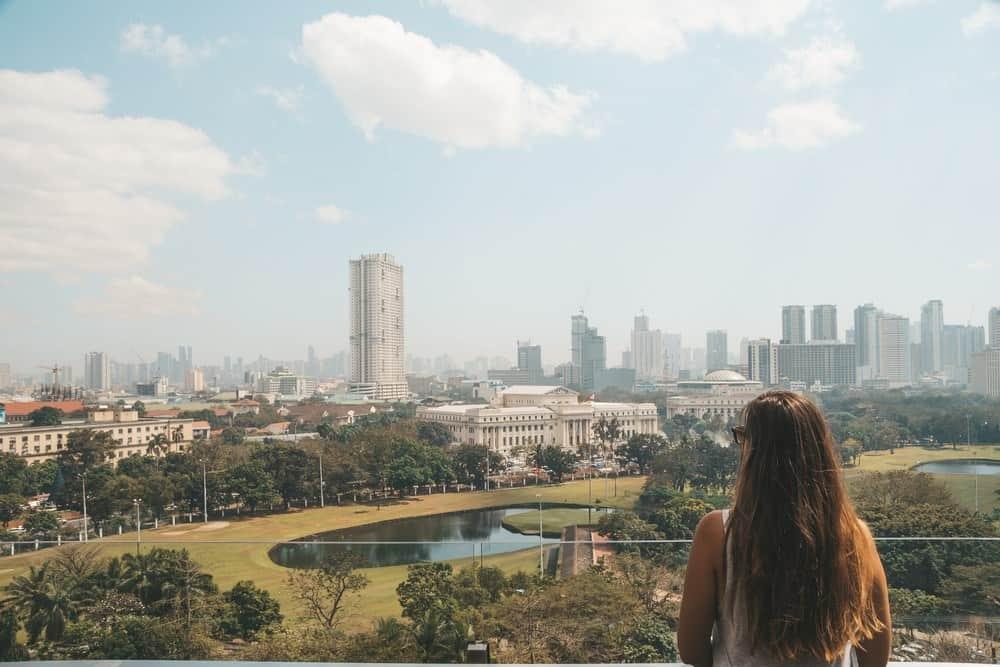 Vistas desde Bayleaf en Intramuros