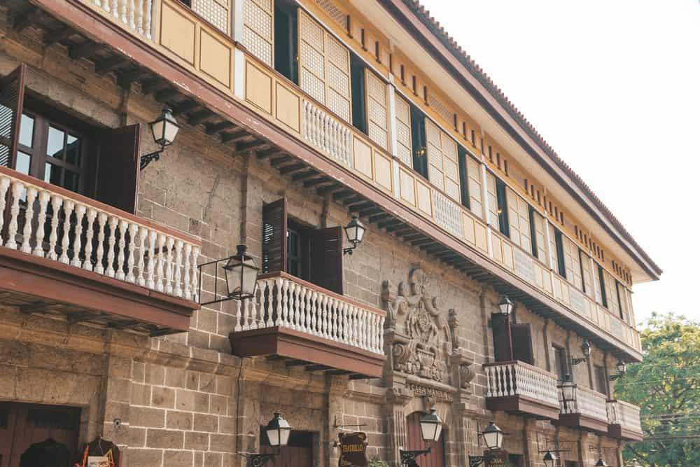 Casa Manila en Intramuros