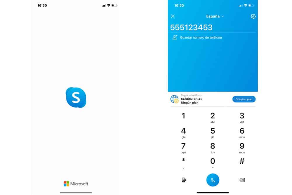 Skype aplicación para viajar por Filipinas