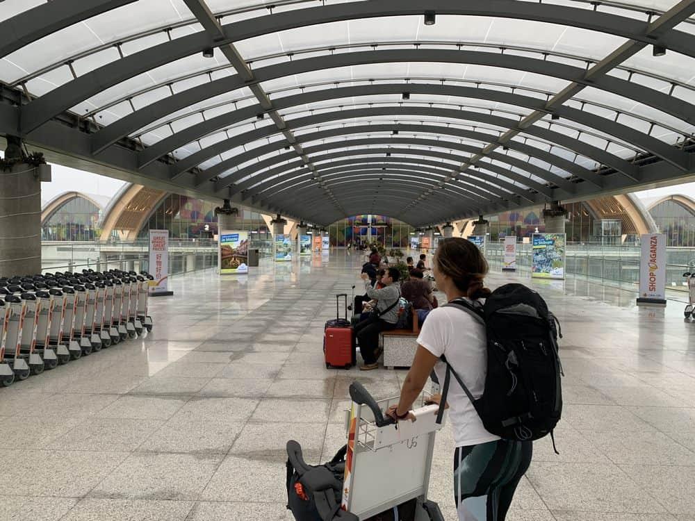 zona de llegadas internacionales cebu