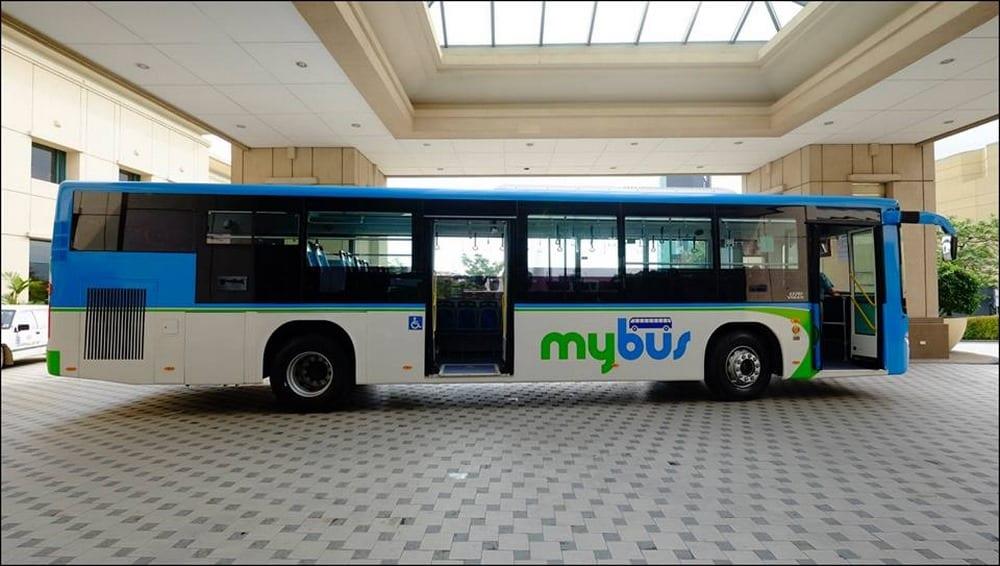 bus para ir del aeropuerto al puerto de Cebu