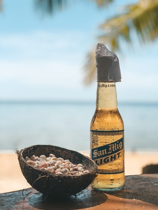 cuánto cuesta una cerveza en Filipinas