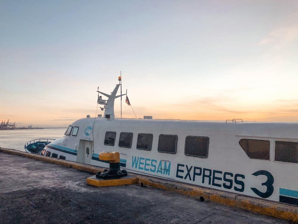 cuánto cuesta el transporte viajar filipinas
