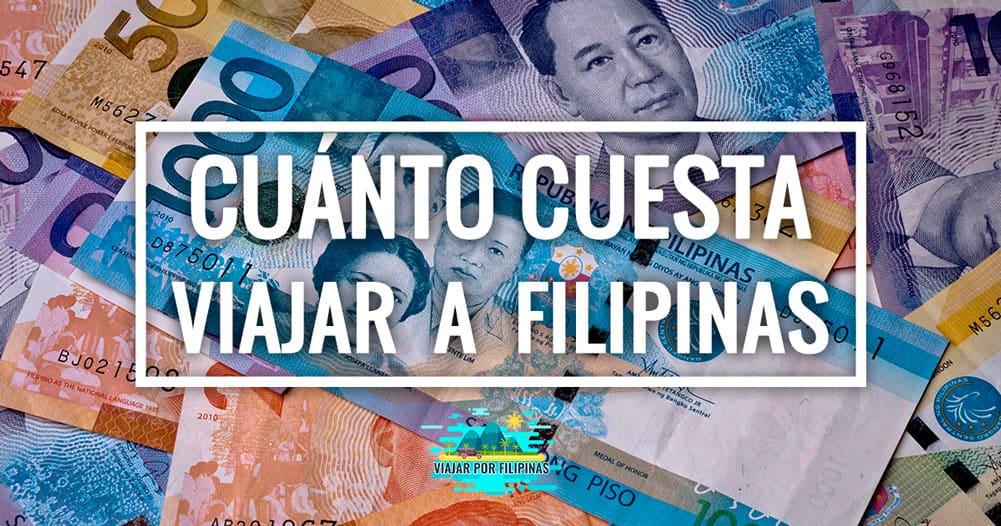 ¿Cuánto cuesta viajar a Filipinas? ¿Es barato?