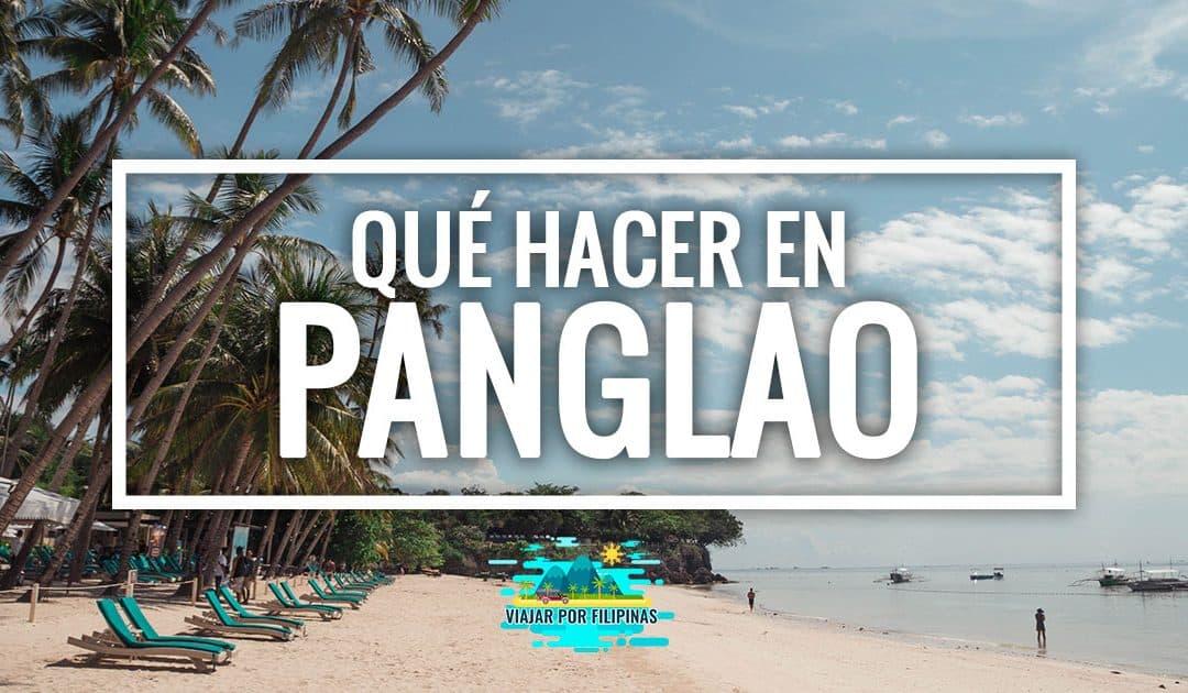 que ver en Panglao