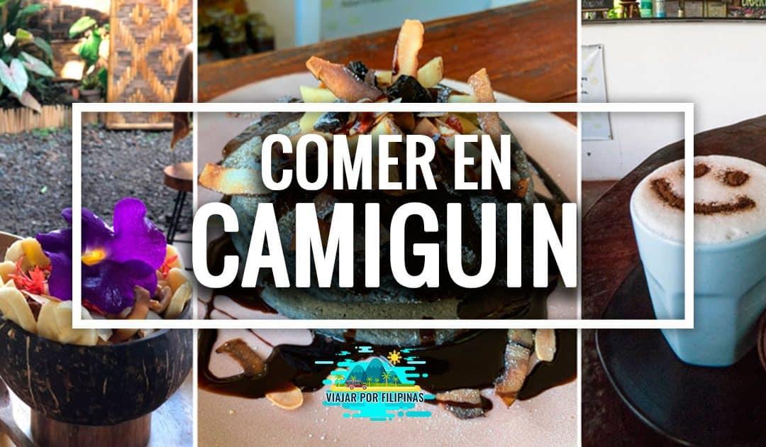 Dónde comer en Camiguin: mejores lugares para comer, cenar y desayunar