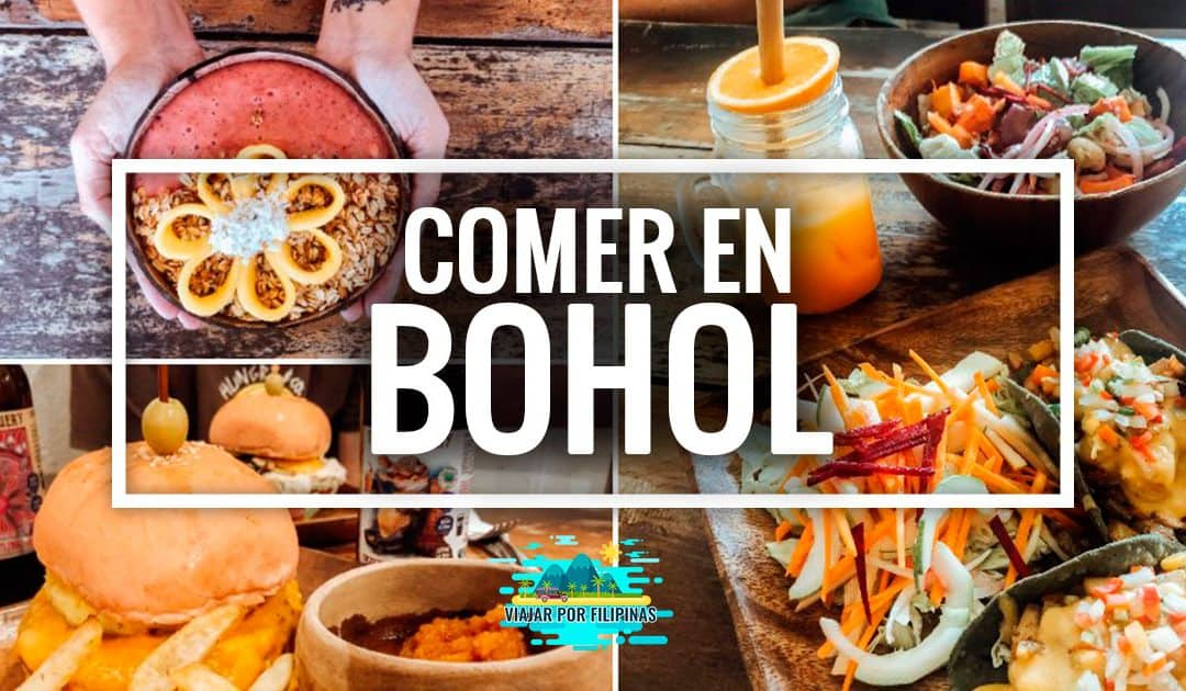 Dónde comer en Bohol: Panglao, Loboc y Anda