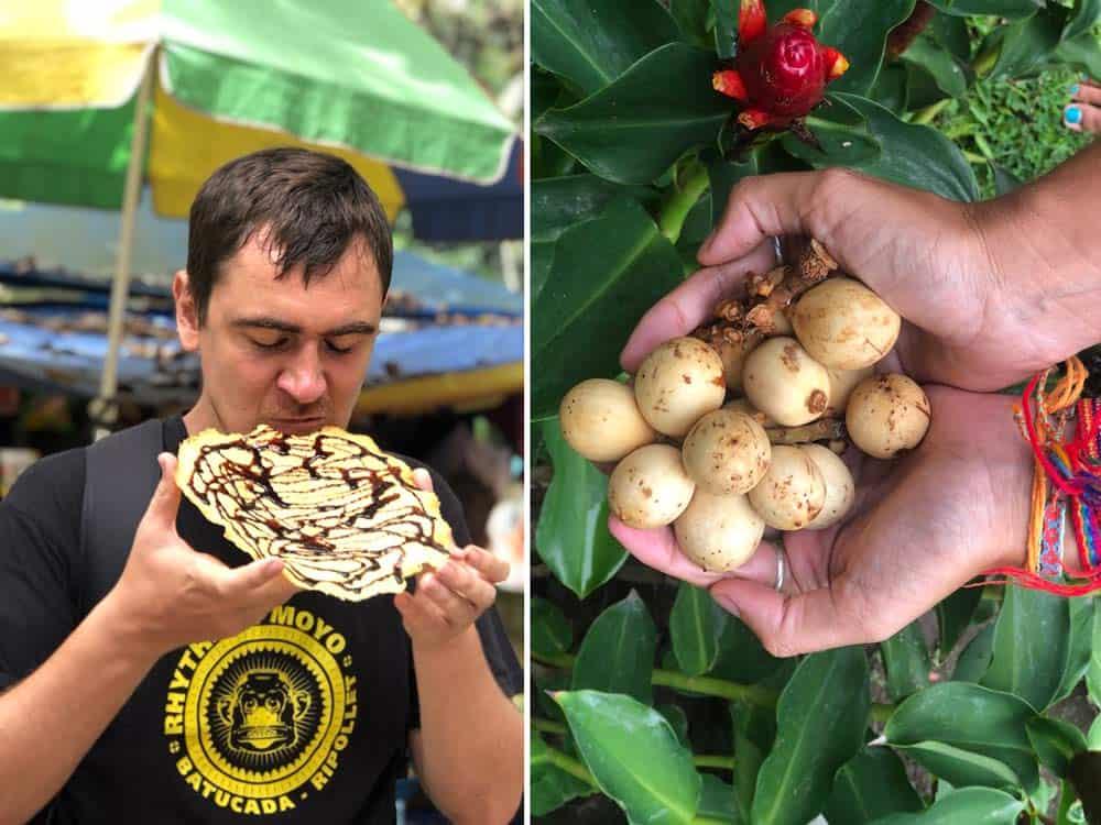 Lanzones y Kiping, delicias locales