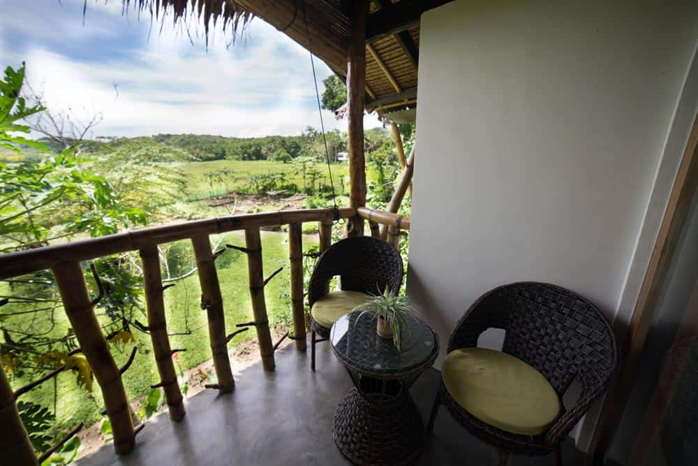 suite con vistas en Fox & Firefly Cottages Loboc