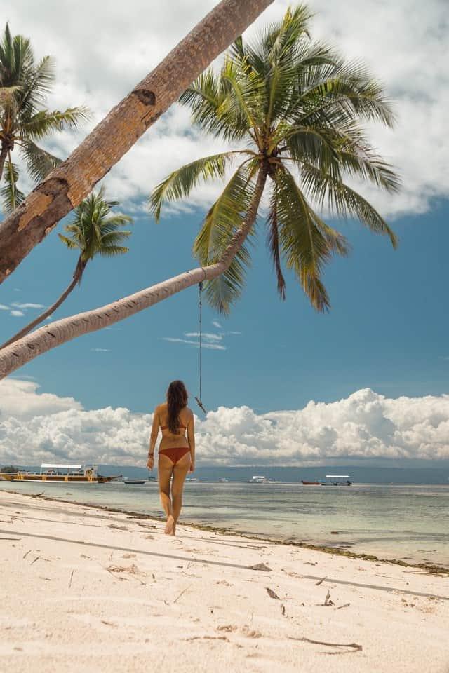 mejores playas de panglao talisay beach