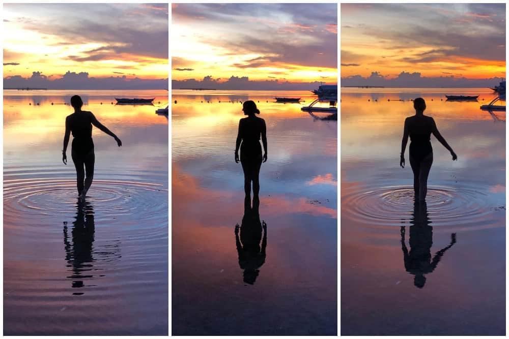 atardeceres en la playa de danao
