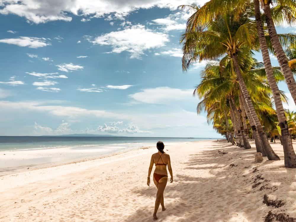 como son las playas de panglao dumaluan beach