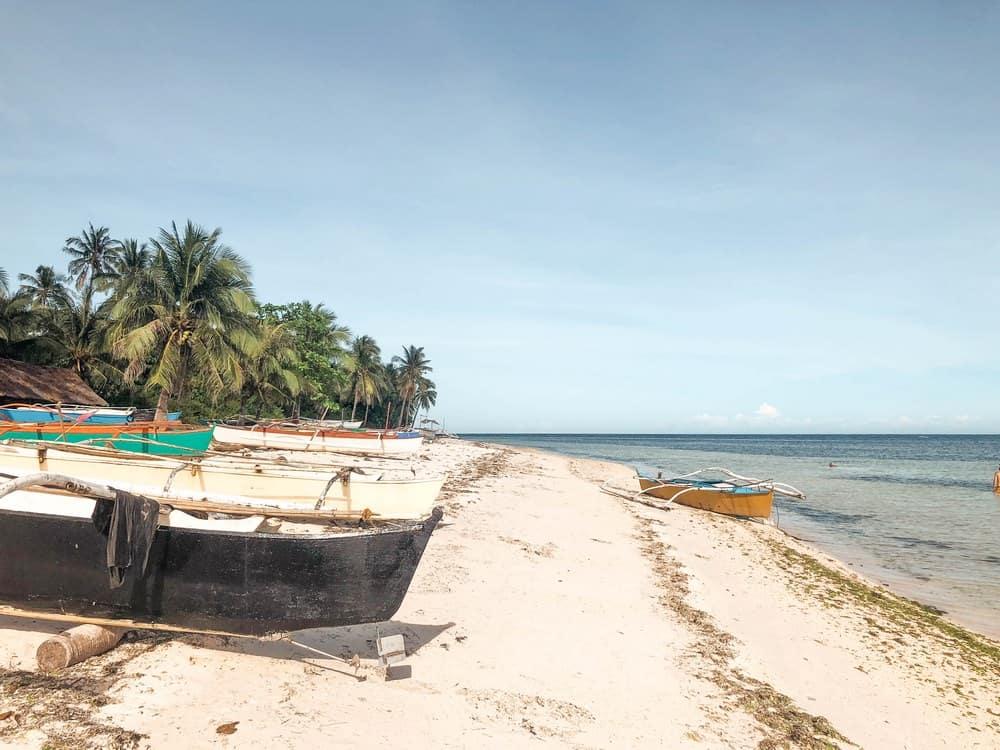 talisay beach en anda bohol