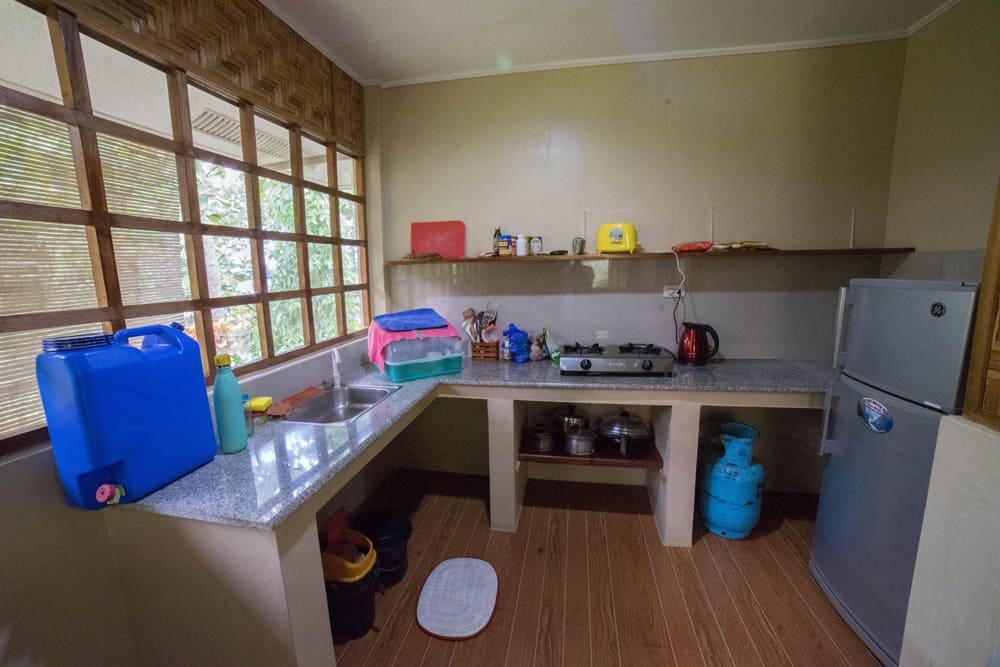alojamiento con cocina en Camiguin