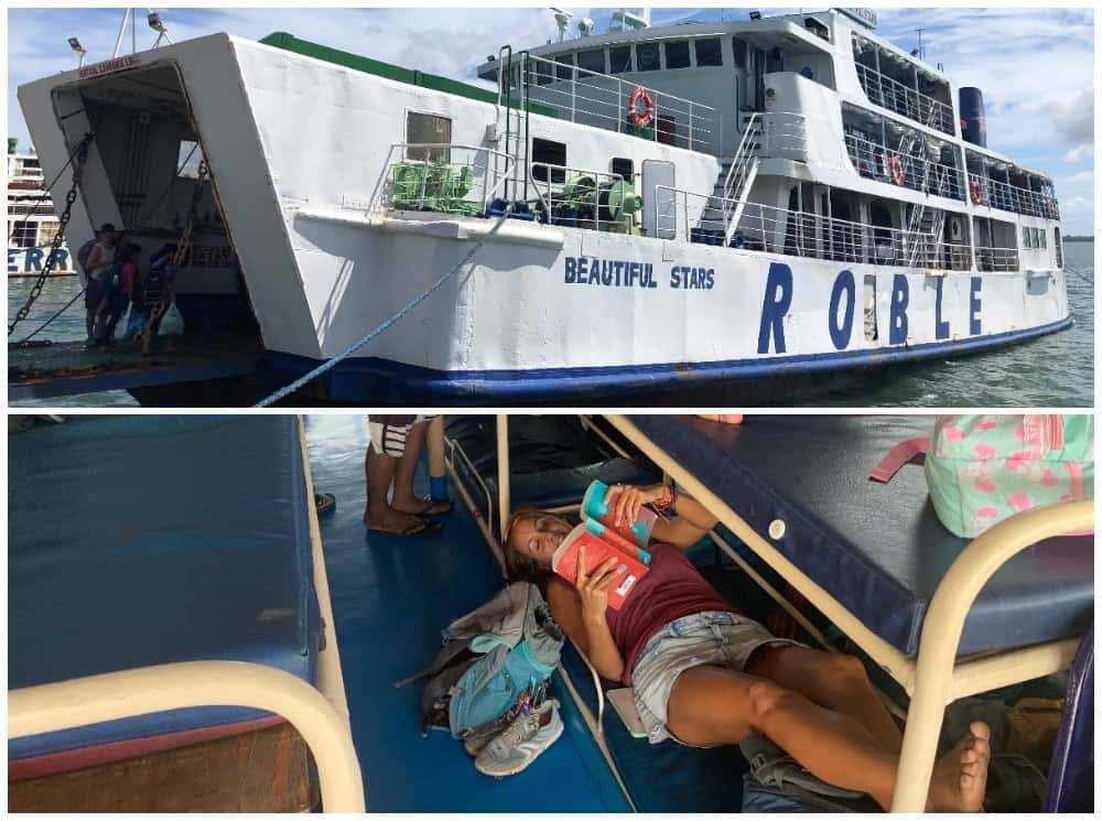 ferri para llegar a las cuatro islas leyte