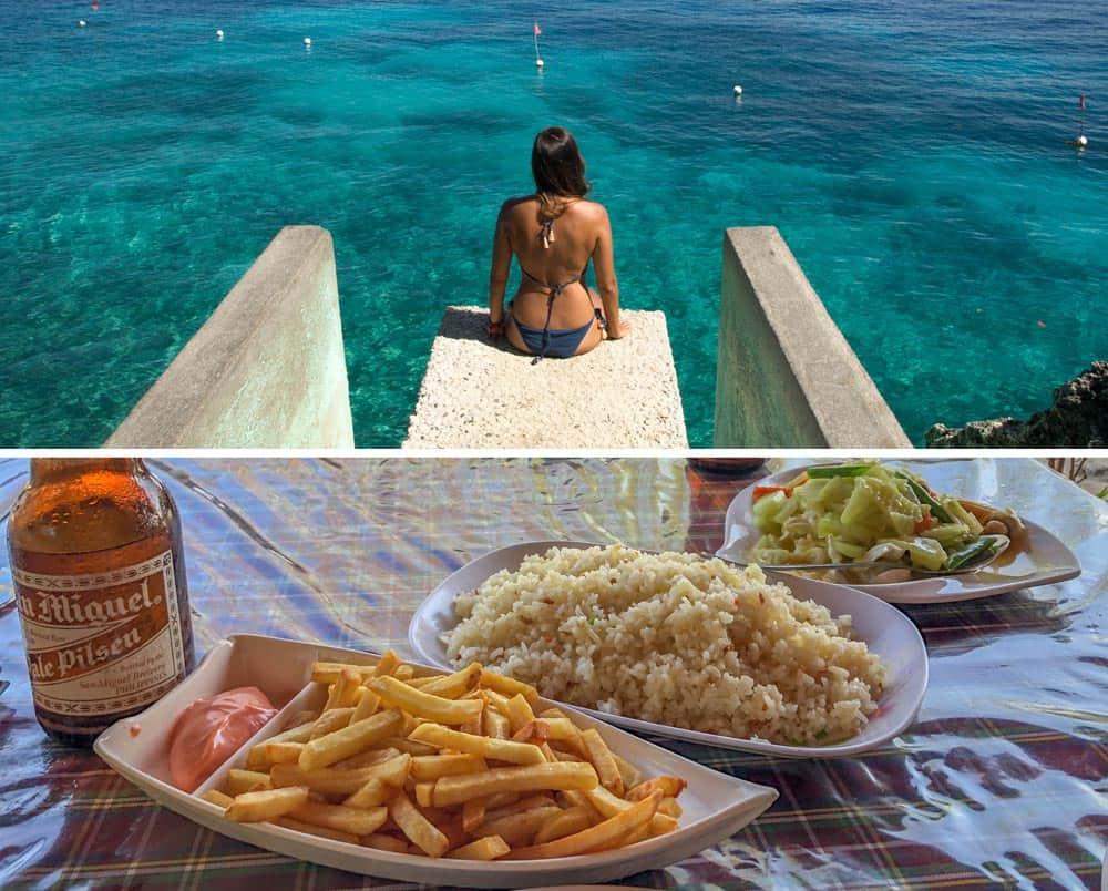 comer en salagdoong beach restaurant