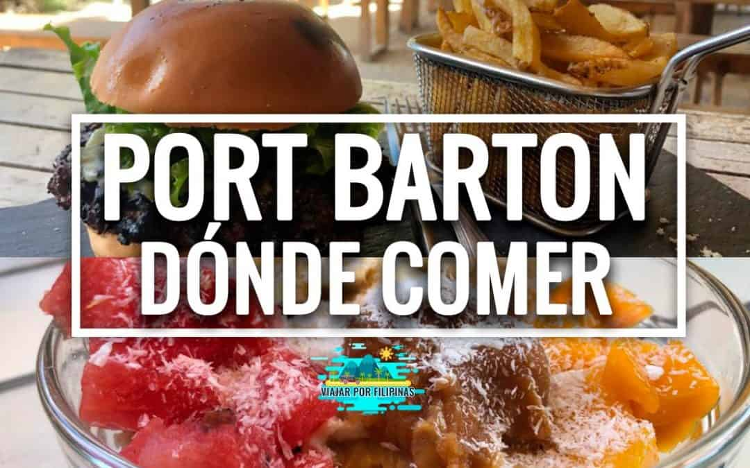 Port Barton donde comer