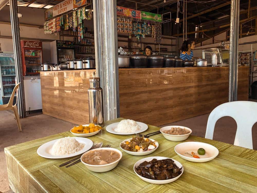 típica comida de Filipinas