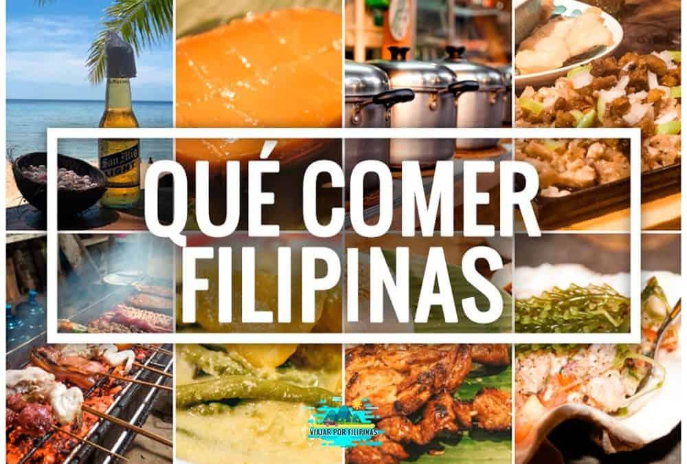 Filipinas qué comer