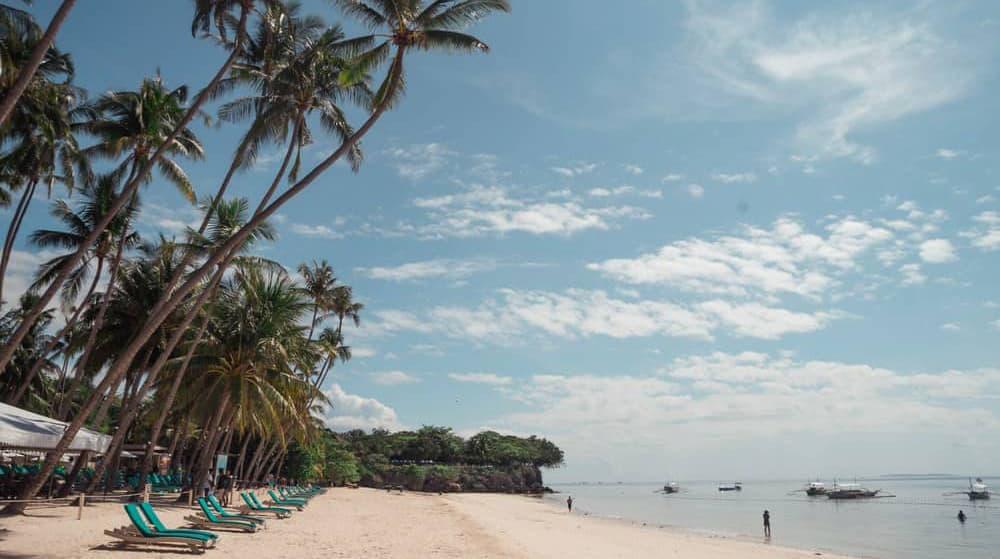 guía de playas de Bohol