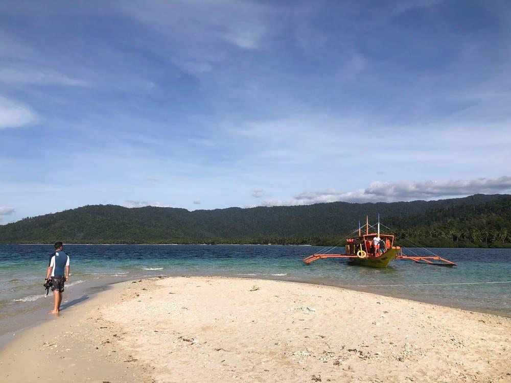 Starfish Island, parada del island hopping