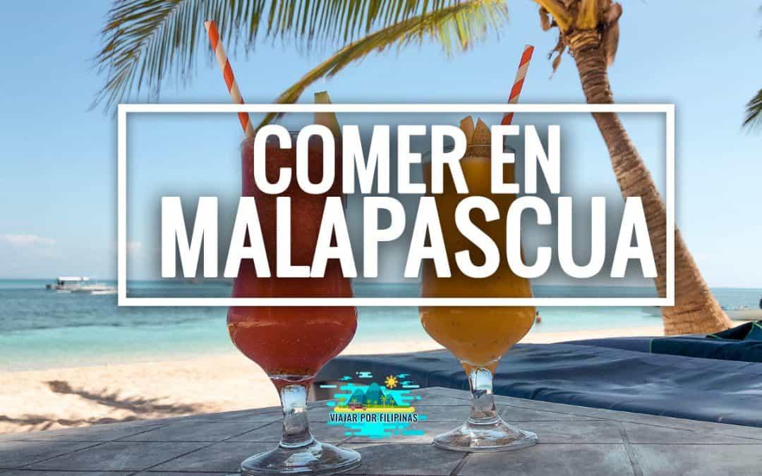 Dónde comer en Malapascua: los mejores restaurantes