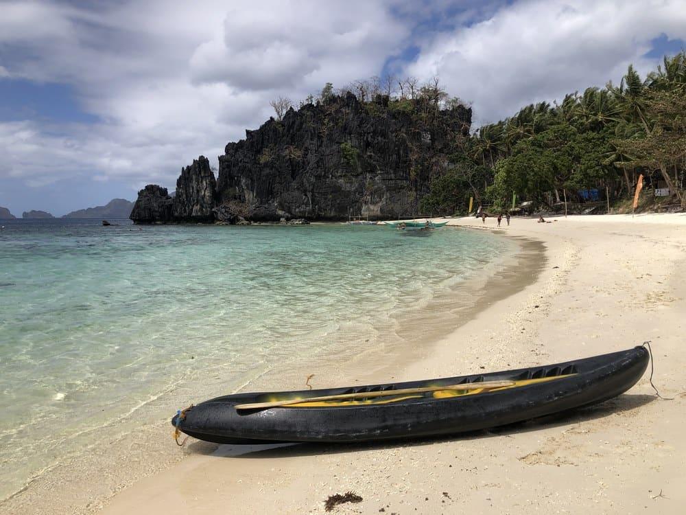 mejores playas kayak El Nido