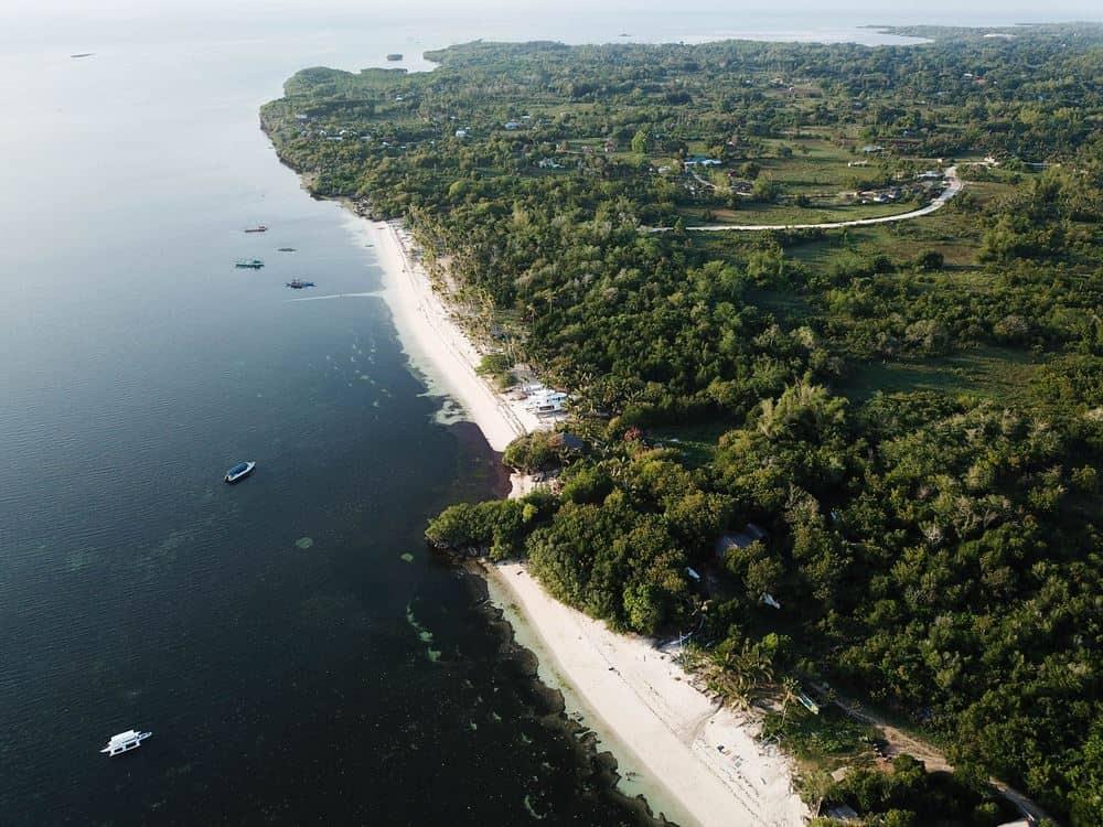 Paliton Beach drone