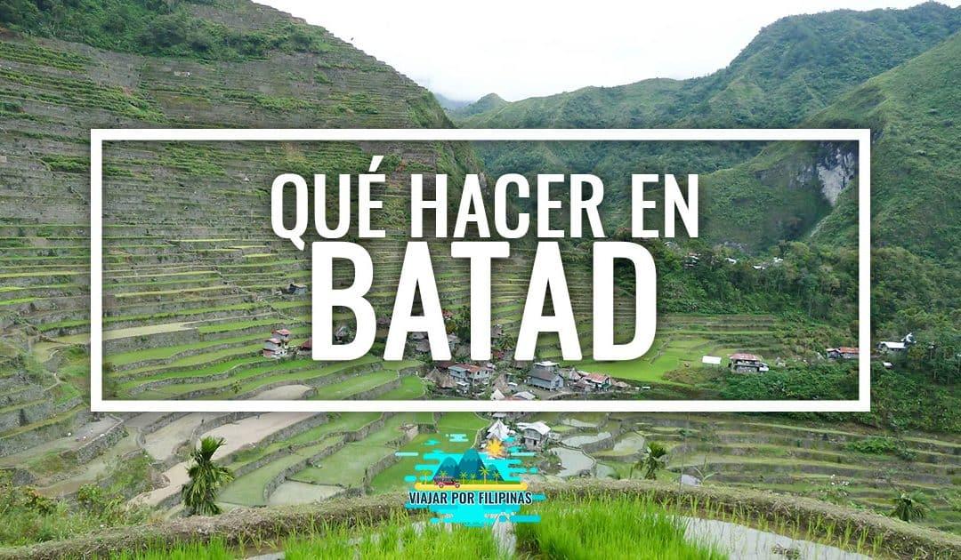 Qué ver en Batad, Filipinas