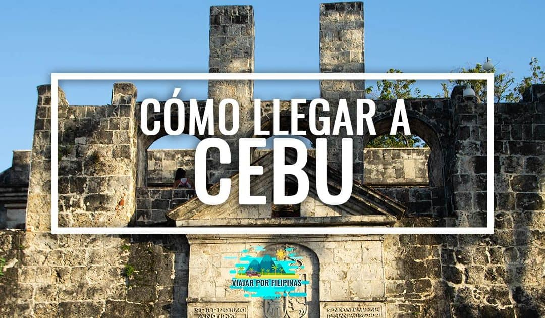Cómo llegar a Cebú