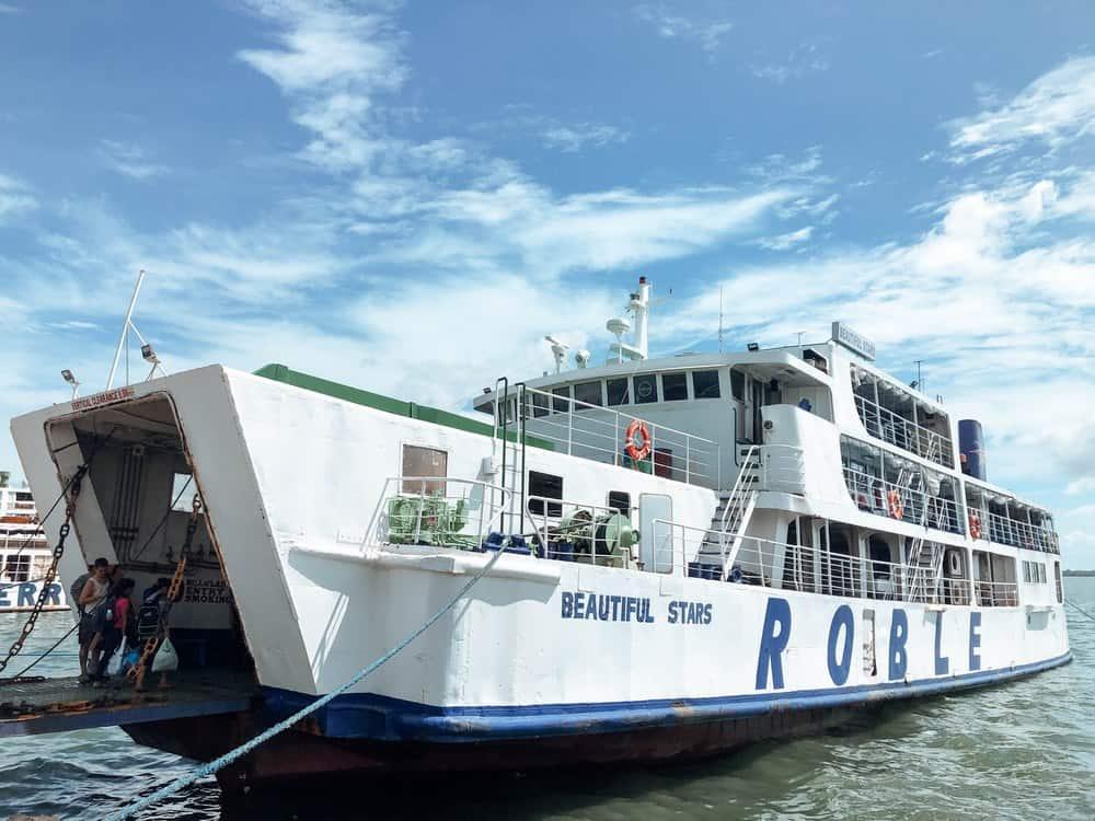 ferry de Roble Shipping Cebu Hilongos