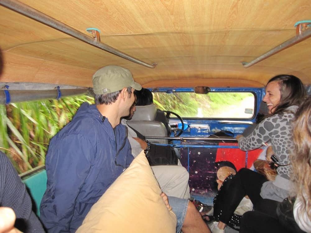 trycicle de Banaue a Batad
