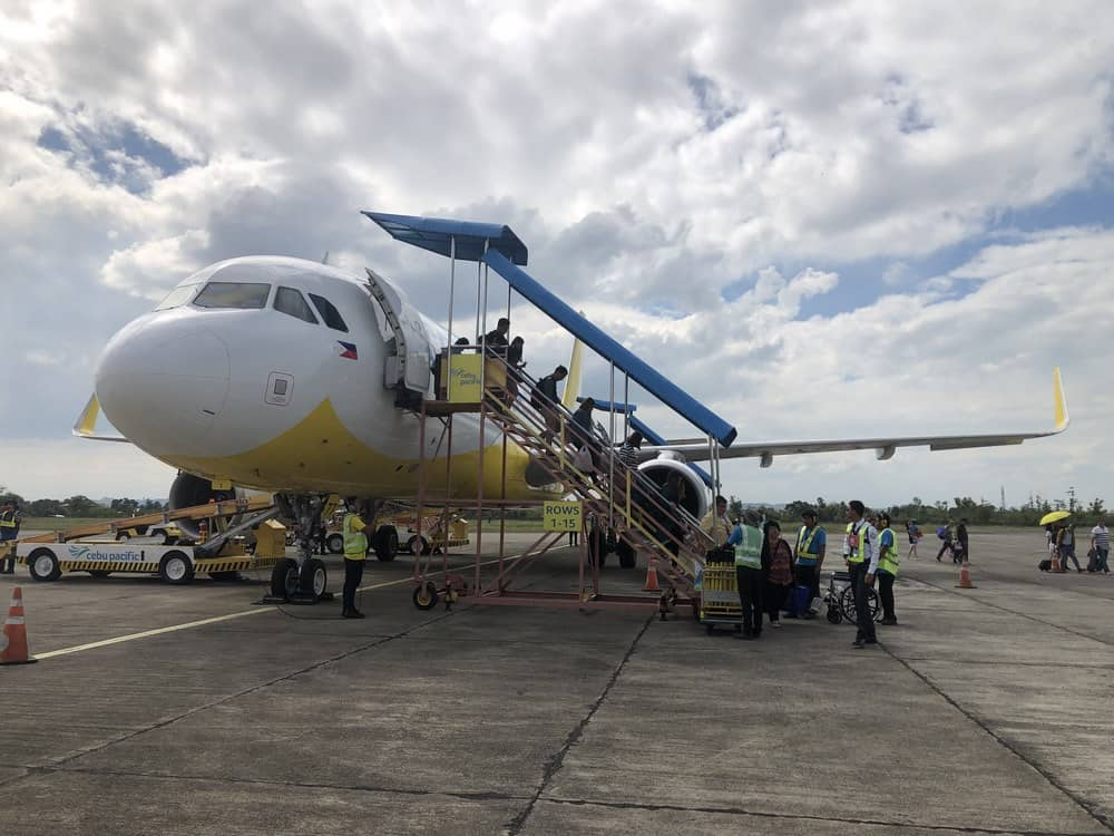 vuelos para llegar a Cebú
