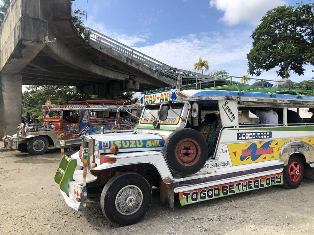 jeepneys en Bohol