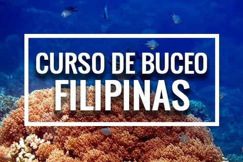 Curso de buceo en Filipinas