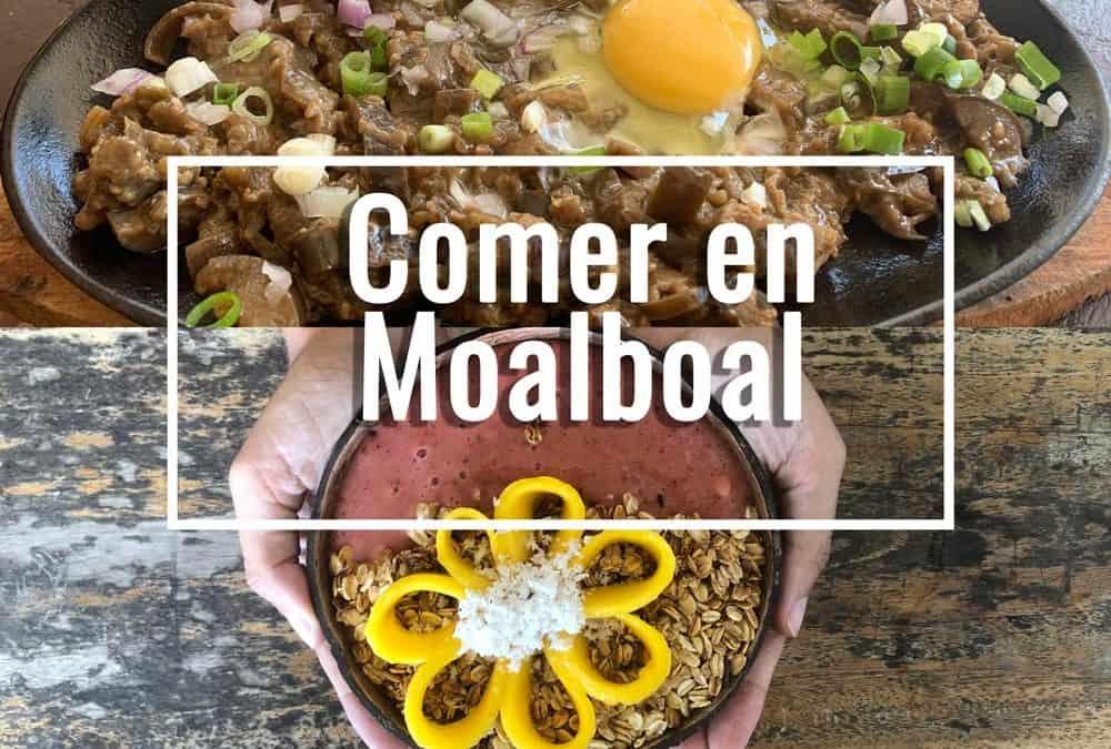 Dónde comer en Moalboal: restaurantes recomendados