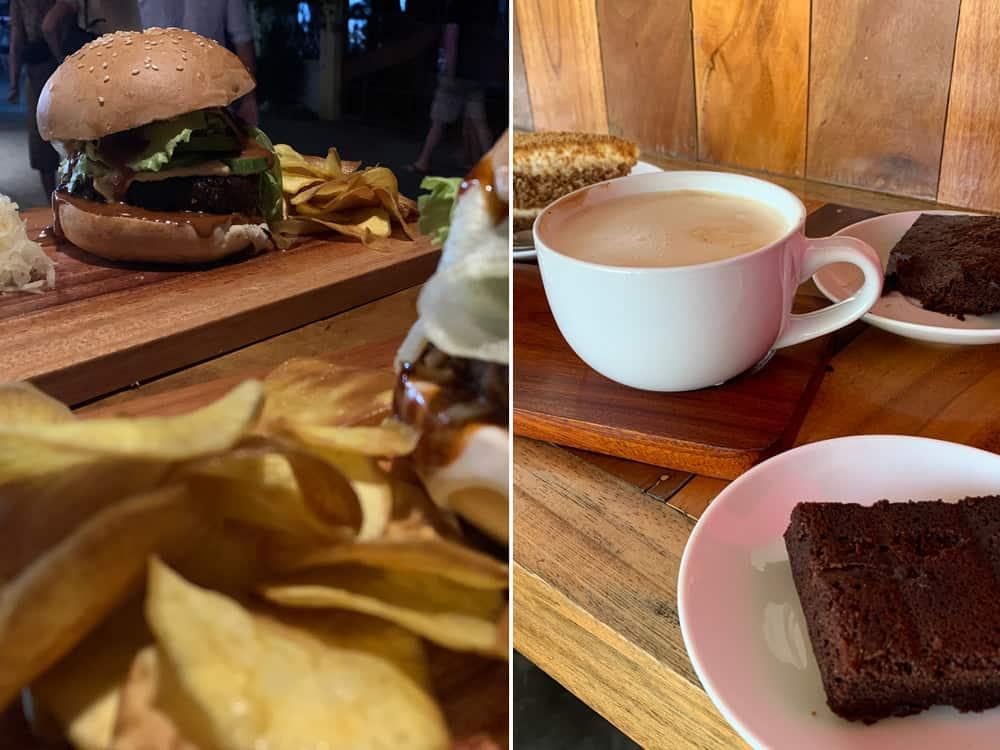 desayunos y hamburguesas saludables en Moalboal