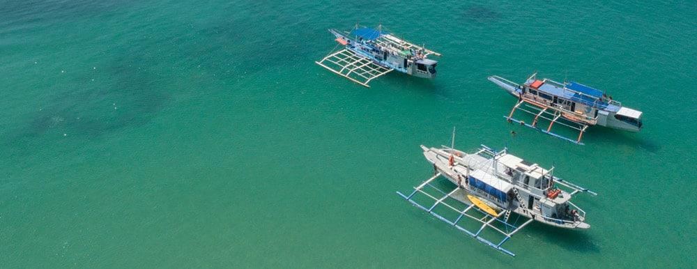 TAO Exoedition, Big Dream Boat Man, Buhay Isla y sus diferentes barcos