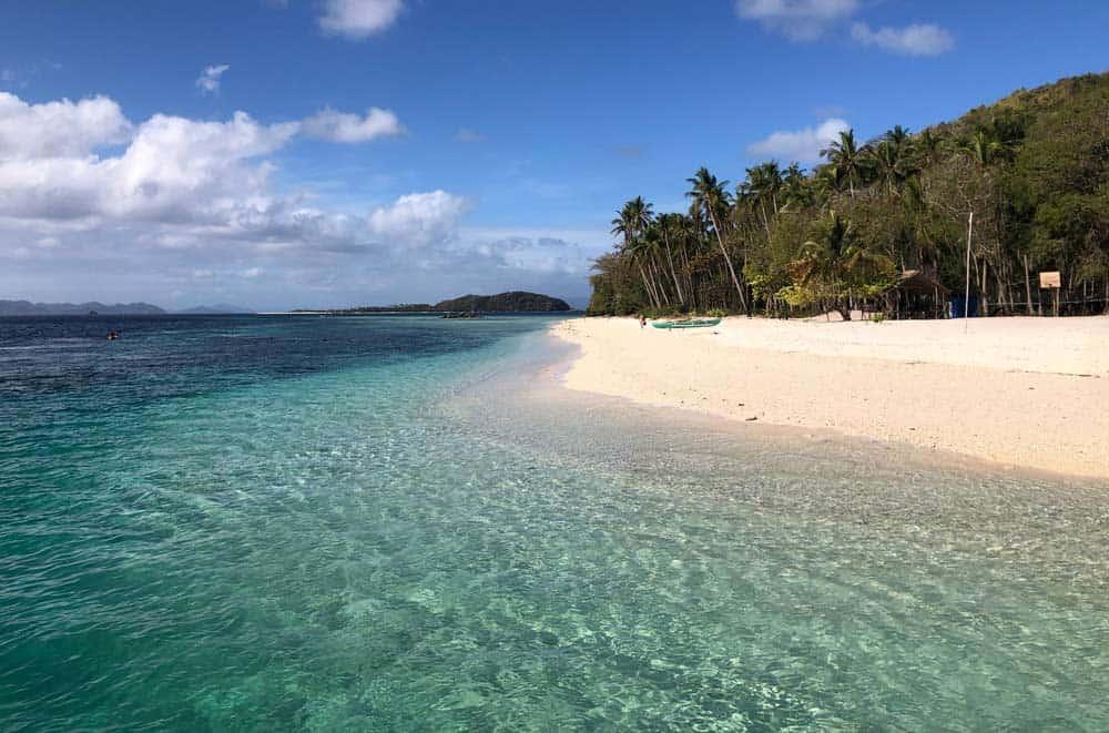 playas que se visitan en la expedición de Coron a El Nido