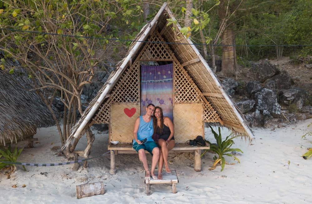 Linapacan Tourist Camp, nuesto alojamiento favorito en la expedición de Coron a El Nido