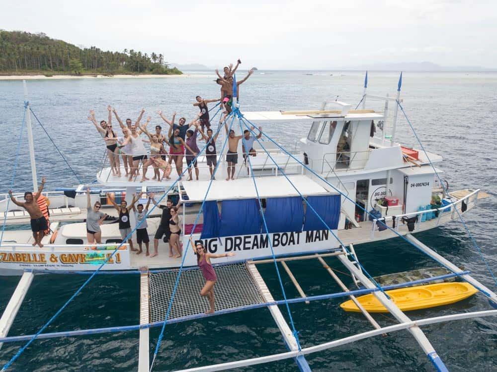 barco de Big Dream Boat Man