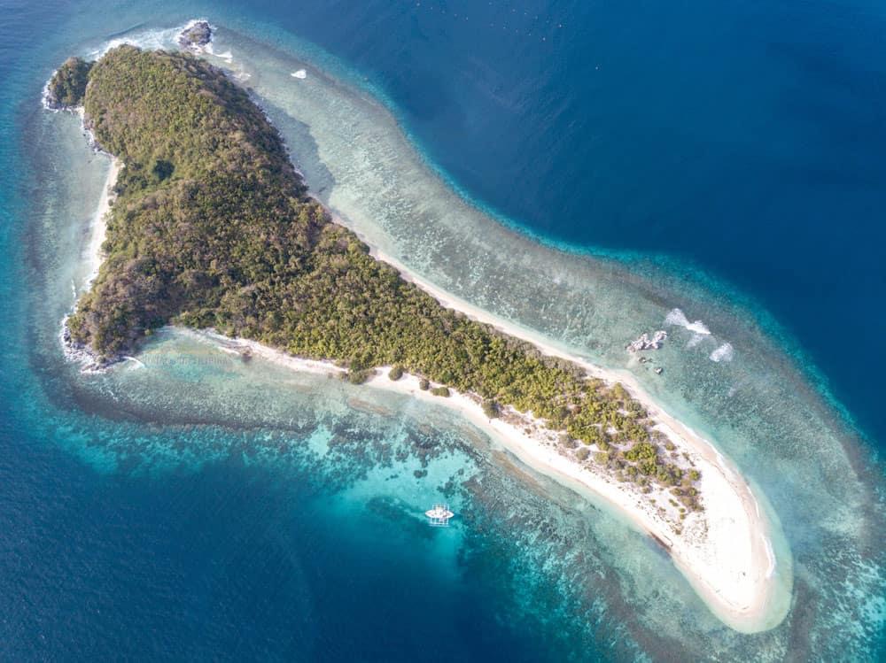 Cobra island, épica isla de la expedición El Nido - Coron