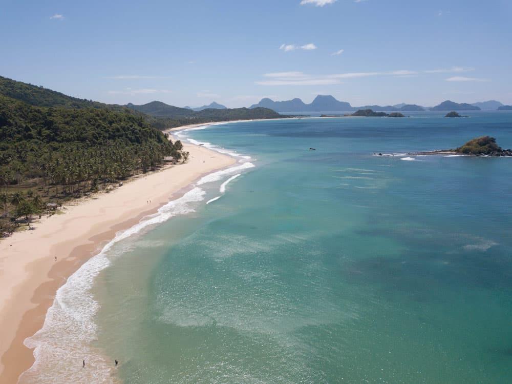 Nacpan Beach, la mítica playa de El Nido