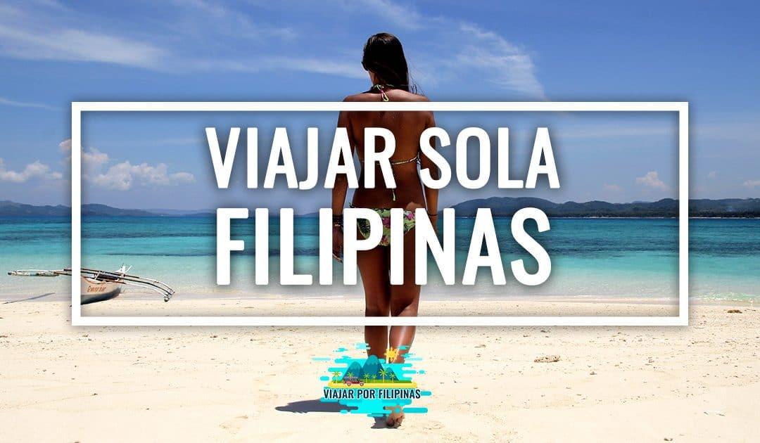 Viajar sola a Filipinas, ¿es recomendable?