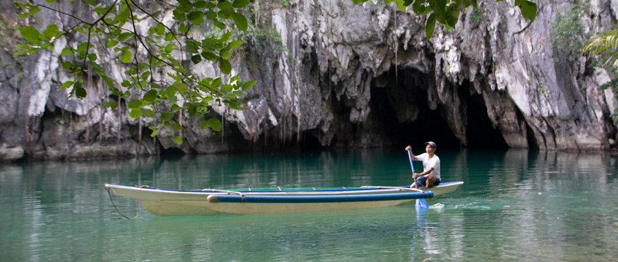 guía del río subterráneo de Puerto Princesa