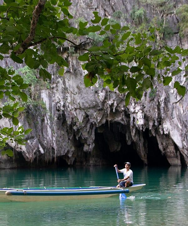 río subterráneo de Sabang